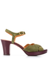 Chie Mihara Betra Sandals Green