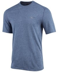 Greg Norman For Tasso Elba Men's Soft Touch T Shirt Created For Macy's Grey Wall