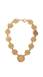 Wgaca What Goes Around Comes Around Chanel Gold Cc Coin Necklace