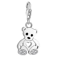 Thomas Sabo Charm Club Teddy Bear Charm Silver