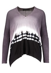 Religion Long Sleeved Top Black White