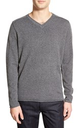 Men's Velvet By Graham And Spencer 'Anderson' V Neck Sweater