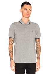 Fred Perry Twin Tipped Polo Gray