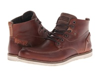 Type Z Mercer Brown Leather Men's Lace Up Boots