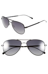 Men's Oliver Peoples West Sunglasses 'Piedra' 58Mm Polarized Aviator Sunglasses