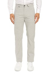 Zachary Prell Mckinney Regular Fit Straight Leg Pants Grey