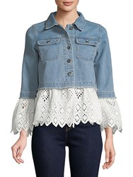 Candc California Westly Bell Sleeve Denim Jacket