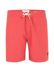 Racing Green Estrada Swim Shorts Red