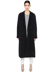 Max Mara Double Breasted Wool And Cashmere Coat