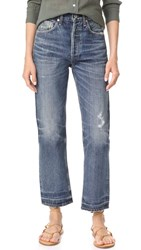 Citizens Of Humanity Gia High Rise Ankle Straight Leg Jeans Rollins