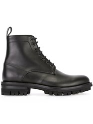 Dsquared2 Pull Tab Ankle Boots Black