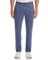 Michael Kors Garment Dyed Slim Fit Chinos Chambray