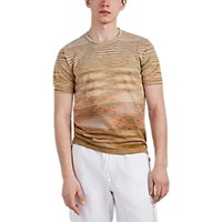 Missoni Space Dyed Cotton T Shirt Gold