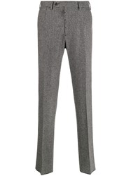 Lardini Houndstooth Tailored Trousers 60