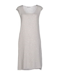 Bruno Manetti Short Dresses Light Grey