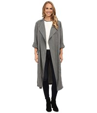 Bobeau Trench Duster Jacket Olive Women's Coat