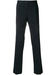 Canali Classic Tailored Trousers Blue