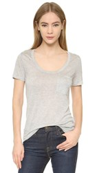 Club Monaco Sunny Tee Light Heather Grey