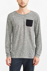 The Narrows Feeder Pocket Tee Grey
