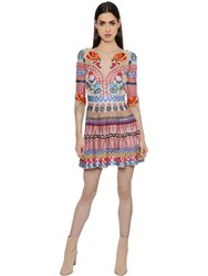 Temperley London Embroidered Tulle And Silk Voile Dress