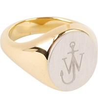 J.W.Anderson Signet Ring Yellow Gold