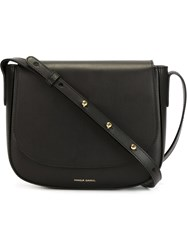 Mansur Gavriel Structured Crossbody Bag Black