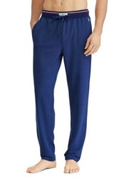 Ralph Lauren Slim Fit Terry Cotton Sleep Pants Blue