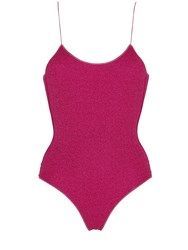 Oseree Swimwear Lurex And Lycra One Piece Swimsuit