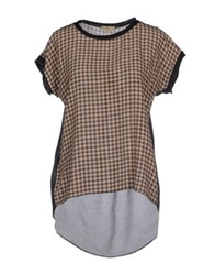Jejia Blouses Dark Brown