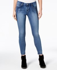 Rampage Juniors' Embellished Skinny Ankle Jeans Lexington