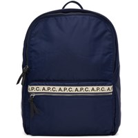 A.P.C. Navy Sally Backpack