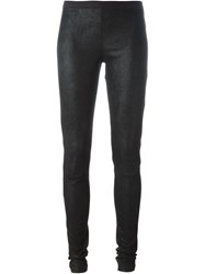 Rick Owens Skinny Leggings Black