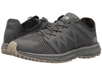The North Face Litewave Flow Lace Zinc Grey Vintage White Shoes Gray