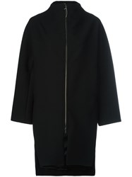 Ilaria Nistri Oversized Coat Black