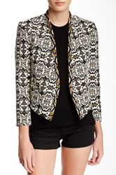 Twelfth St. By Cynthia Vincent Cropped And Beaded Jacket Multi