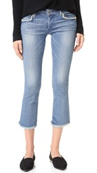 True Religion Karlie Bell Bottom Crop Jeans Gypset
