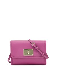 Cole Haan Daphne Saffiano Leather Crossbody Bag Azalea