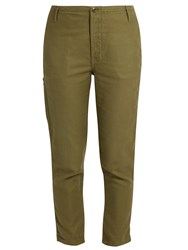 The Great Carpenter Low Slung Trousers Khaki