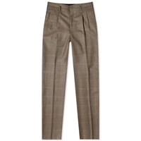 Lanvin Gun Check Slim Trouser Neutrals
