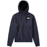 The North Face Fine Full Zip Hoody Blue