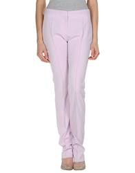 Just Cavalli Trousers Formal Trousers Women Light Pink