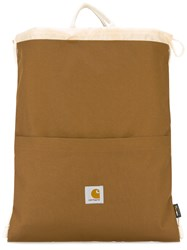 Carhartt Canvas Backpack Brown