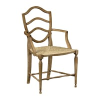 William Yeoward Bodiam Armchair Washed Oak