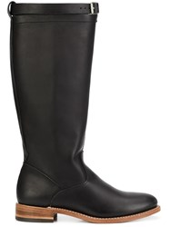 Red Wing Shoes Knee Length Boots Black