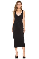 Finders Keepers Titanium Midi Dress Black