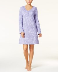 Charter Club Printed Knit Sleepshirt Only At Macy's Dandelion