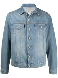 Zadig And Voltaire Base Embroidered Denim Jacket 60