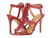 Enzo Angiolini Leluna Red Leather High Heels