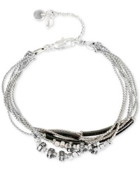 Kenneth Cole New York Two Tone Crystal Bracelet