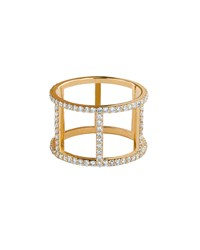 14K Fatale Dash Ring With Diamonds Lana Gold